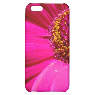 hot pink gerber daisy iPhone 5C case