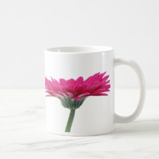 Hot Pink Gerbera Daisy Classic White Coffee Mug