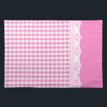 "Hot pink Gingham pattern Cloth Placemat<br><div class=""desc"">&quot;hot pink&quot;, red, pink, gingham, pattern, patterned, patterns, &quot;pink gingham&quot;, country, countryside, &quot;light pink&quot;, &quot;pale pink&quot;, &quot;baby pink&quot;, check, checks, checkered, checked, cute, farm, rural, plaid, pretty, sweet, simple, girly, retro, vintage, modern, contemporary, fresh, fabric, kitchen, cotton, material, squares, square, squared, cloth, tablecloth, teacloth, texture, white, classic, rustic, farmer, ...</div>"