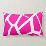 Hot Pink Giraffe Pattern Wild Animal Prints Pillows