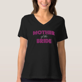 Hot Pink Glam Mother of the Bride T-Shirt