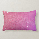 Hot Pink Glitter - Shiny, Sparkles Pillow