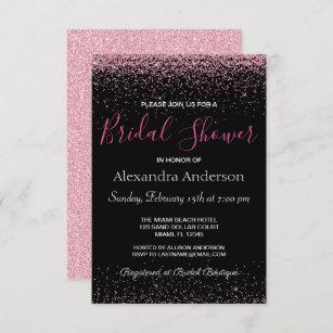 bridal shower invitations fuchsia birthday party invitations hot pink party invitations fuchsia bridal shower invitations IN433