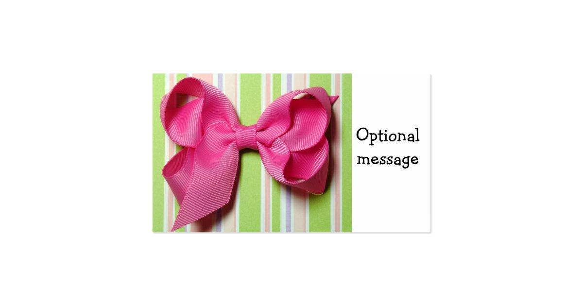 Hair bow business 2018 sale hair bow business cards business card printing zazzle uk colourmoves