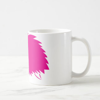 Hot Pink Hedgehog Classic White Coffee Mug