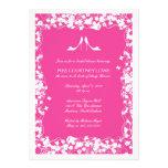 Hot Pink Heels Bridal Shower Invitation