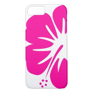 Hot Pink Hibiscus iPhone 8/7 Case