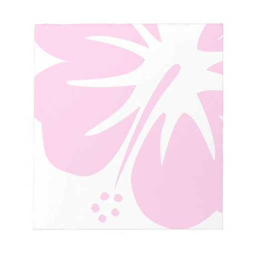 Hot Pink Hibiscus Note Pad