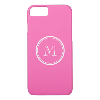 Hot Pink High End Colored Personalized iPhone 7 Case
