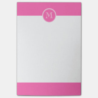 Hot Pink High End Colored Personalized Post-it® Notes