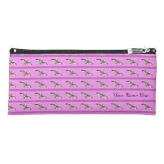 Hot Pink High-Flying Stripped Seagull Pencil Case