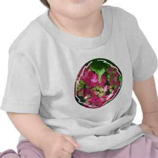 Hot Pink Hydrangea Baby T-Shirt