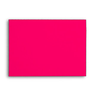 Hot Pink Keep Calm and Carry On Envelope