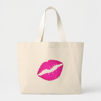 Hot Pink Kiss Bags