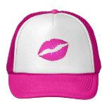 Hot Pink Kiss Hat