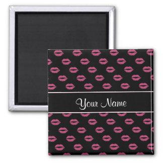 Hot Pink Kisses Magnet