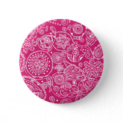 Hot Pink Lace button