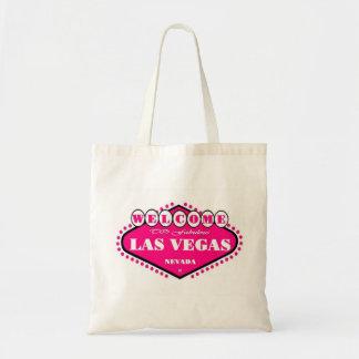 HOT PINK  Las Vegas Logo Bag
