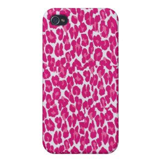 Hot Pink Leopard Case