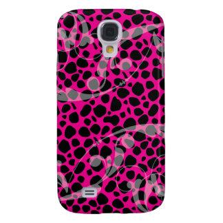 Hot Pink Leopard pern Samsung S4 Case