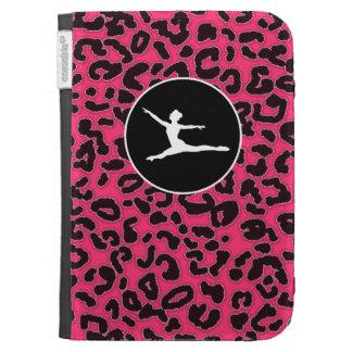 Hot Pink Leopard Print; Ballet Dancer Cases For Kindle