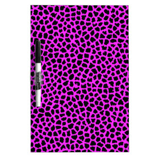 Hot Pink Leopard Print Dry-Erase Whiteboards