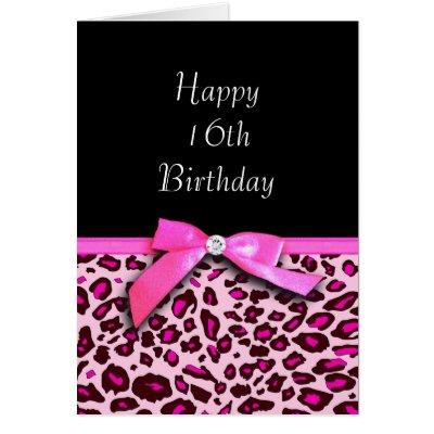 Happy Birthday Leopard Gecko Card – Leopard Print Birthday Cards