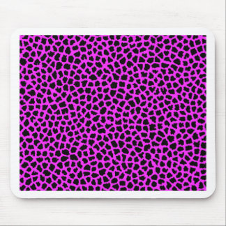 Hot Pink Leopard Print Mouse Pads