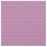 [ Thumbnail: Hot Pink & Light Slate Gray Colored Lines Fabric ]