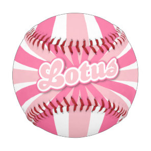 Hot Pink Lotus Baseball