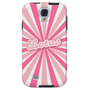 Hot Pink Lotus Galaxy S4 Case