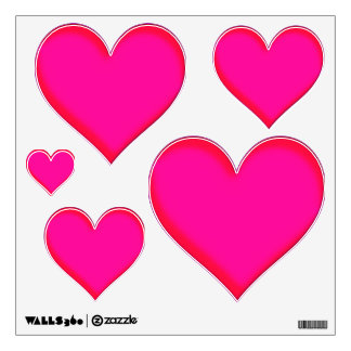 Hot Pink Love - Multi Wall Decal