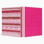 Hot Pink Love Scrapbook Binder