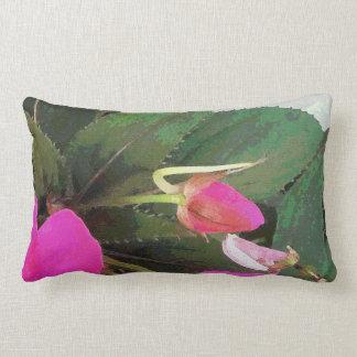 Hot Pink Lumbar Pillow