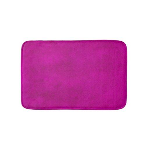 Hot Pink Magenta Watercolor Wash Bath Mat Zazzle