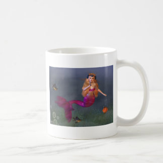 Hot Pink Mermaid Mug