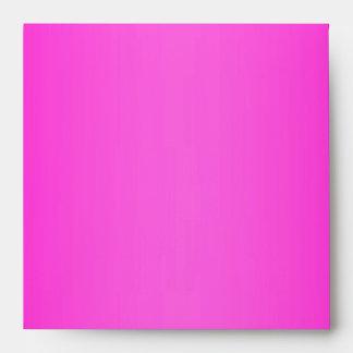 Hot Pink Metallic Leopard Fur Lined Envelope