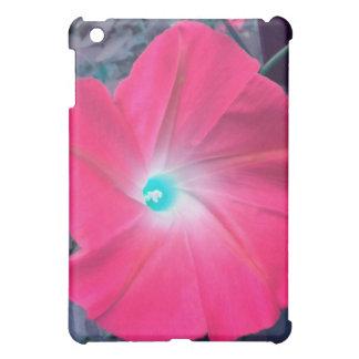 Hot Pink Morning Glory iPad case