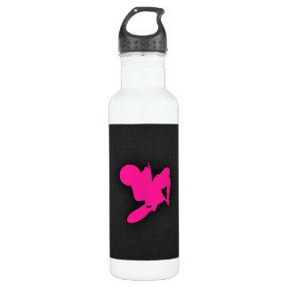 Hot Pink Motocross, dirt bike Water Bottle