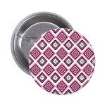 Hot Pink Navajo Inspired Pattern Pins