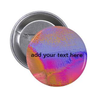 Hot Pink Orange Blue Buttons