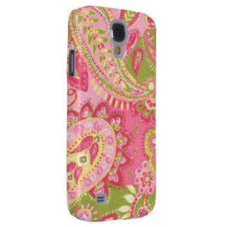 Hot Pink Paisley HTC Vivid Tough Case Galaxy S4 Cases