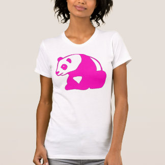 HOT PINK PANDA BEAR T T-Shirt