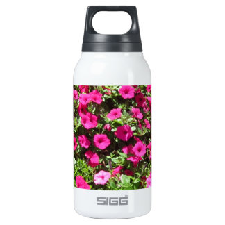Hot Pink Pansies 10 Oz Insulated SIGG Thermos Water Bottle