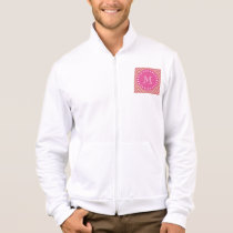 Hot Pink, Peach Chevron | Your Monogram Jacket