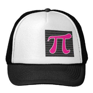 Hot Pink Pi Symbol Trucker Hat