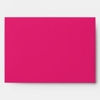 Hot Pink / Pink Greeting Card Envelope