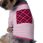 Hot Pink Plaid, Punk, Emo, or Preppy Pet Clothing