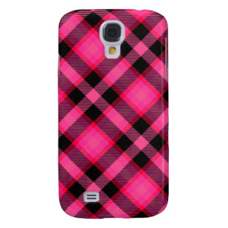 Hot Pink Plaid, Punk or Preppy, Punk's Not Dead Galaxy S4 Cases