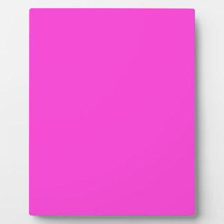 Hot Pink Plaque
